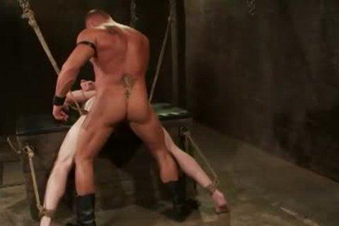 Bondage gay rope