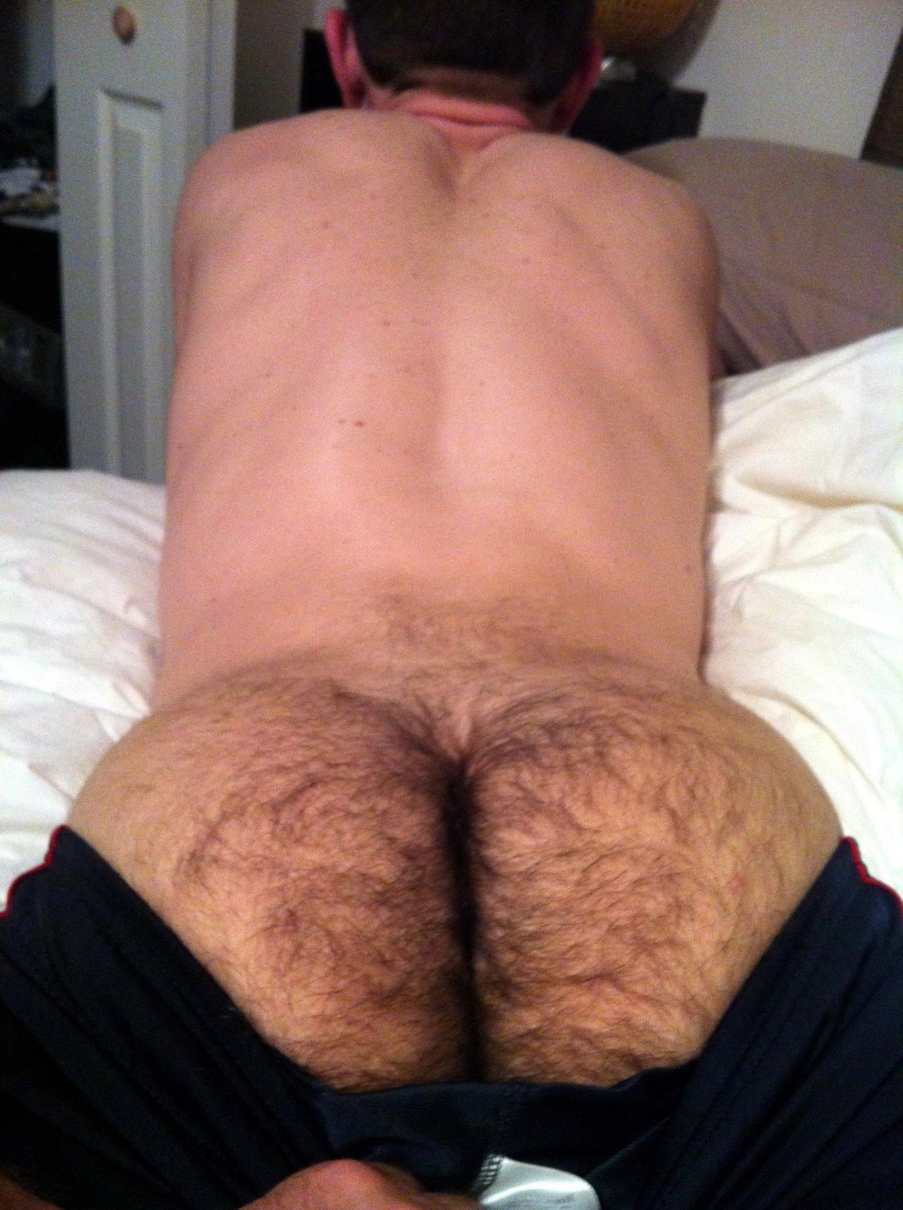 Hot hairy asshole