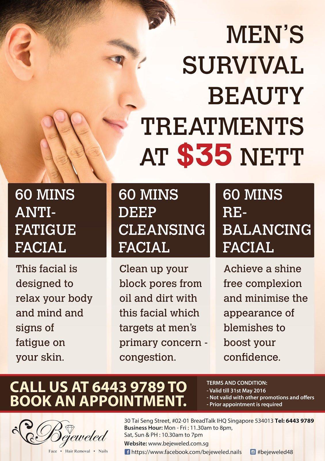 Facial and hair nail
