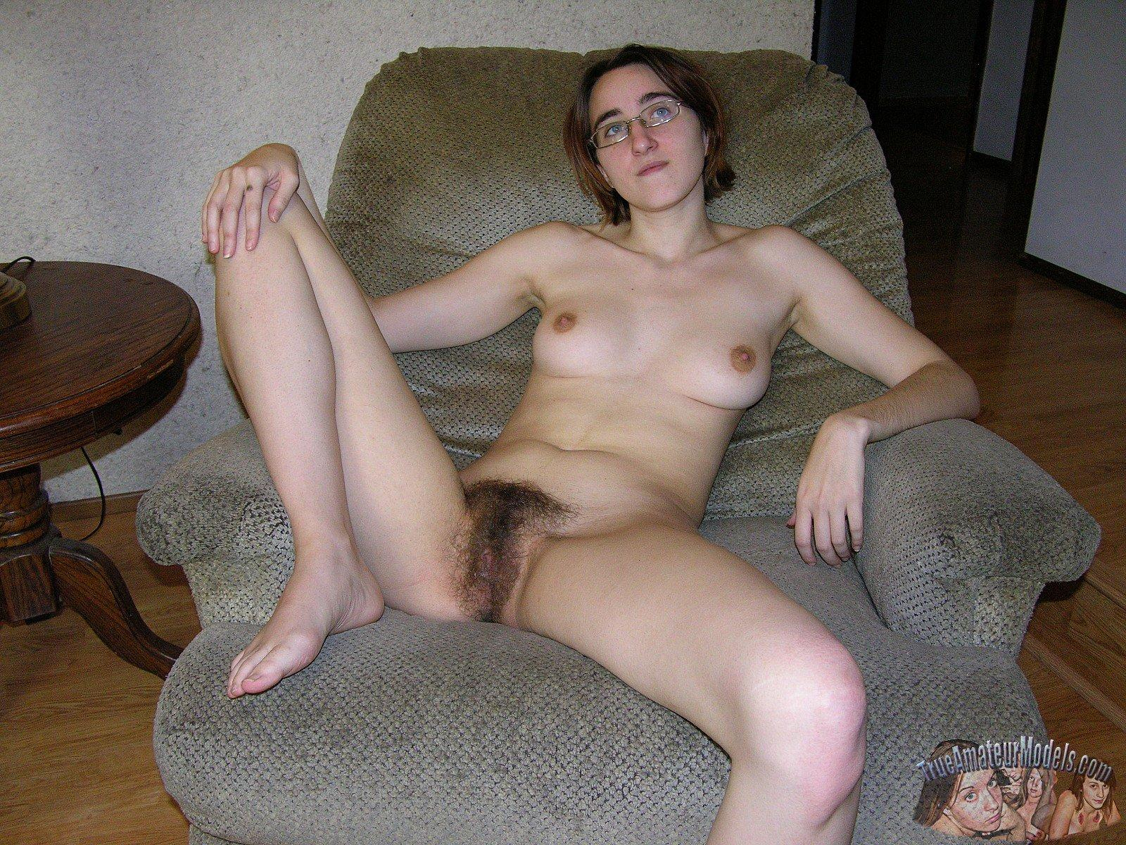 Remarkable, very nerdy girl smoking in the nude