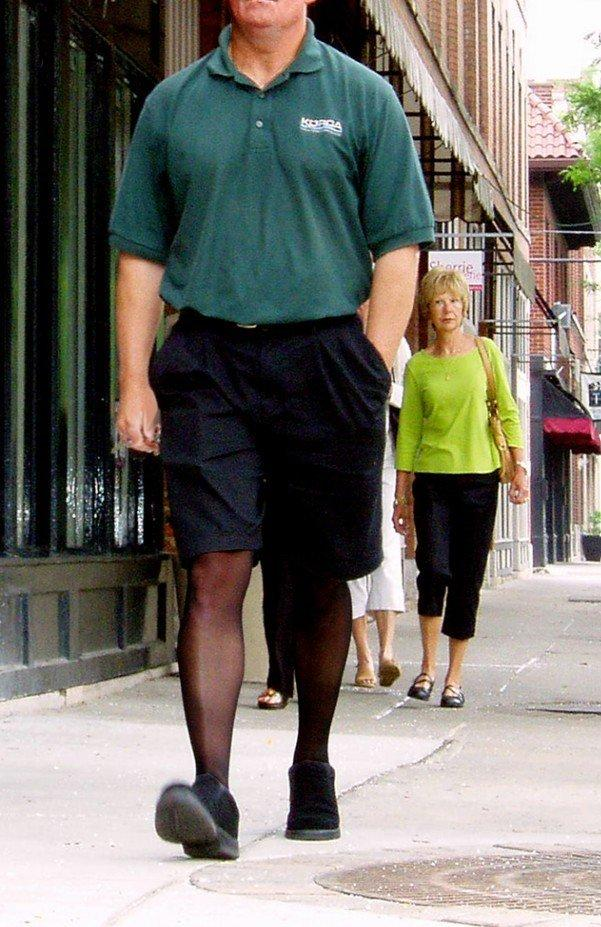 Lollipop reccomend Man in pantyhose