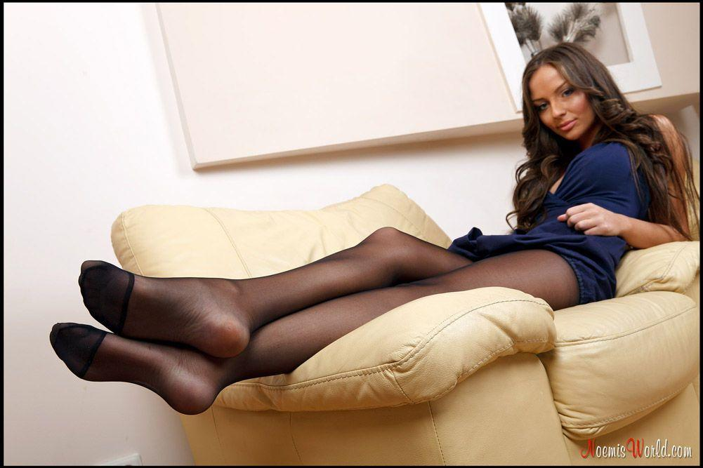 Feet and pantyhose