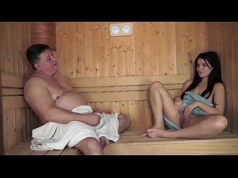 best of In girlfriend Guy sauna fucking