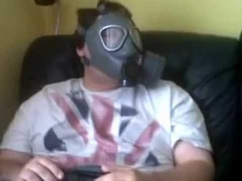 Ribbie reccomend Fart fetish gas mask