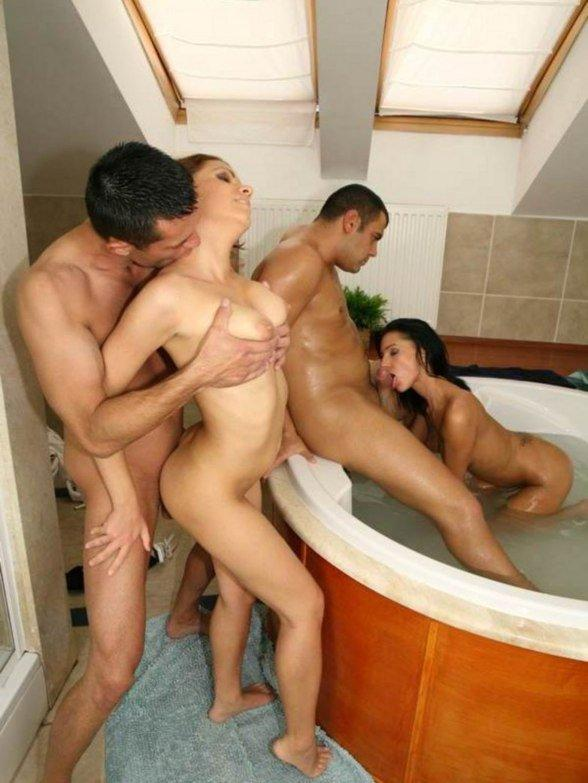 Real swinger orgy video
