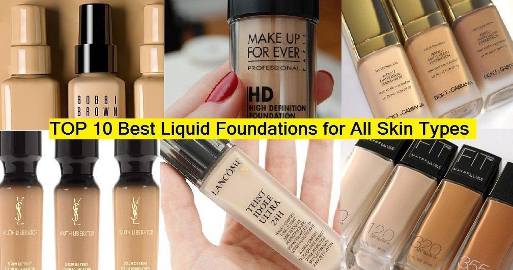 Foundation skin makeup best dry