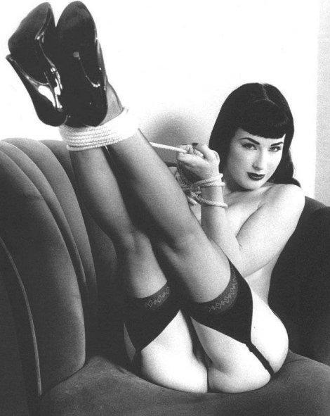 betty bondage page photo