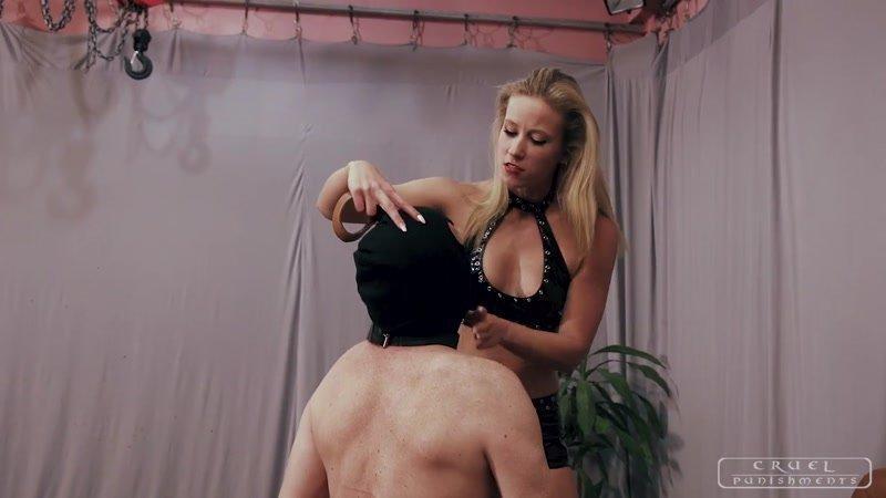 Cruel hard spank