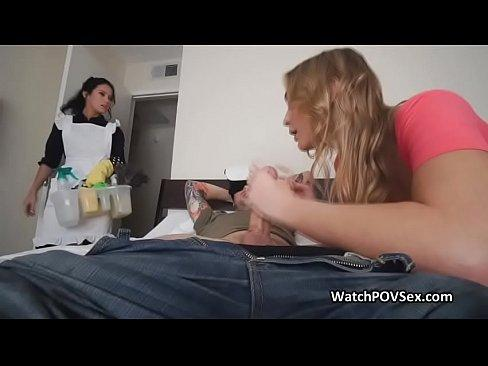 Vice reccomend Spanih sexy maids get fucked in hotel