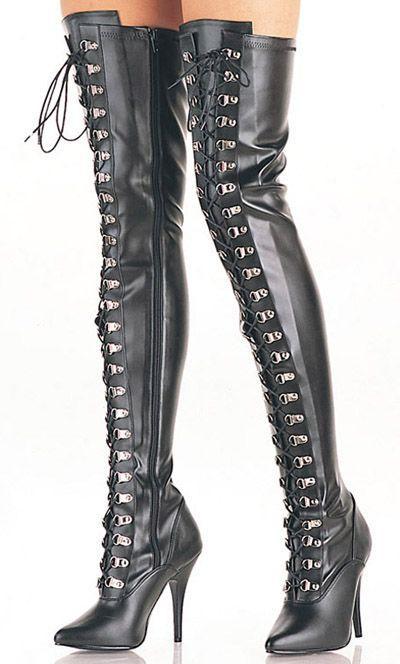 Thigh High Boots Porn Pics