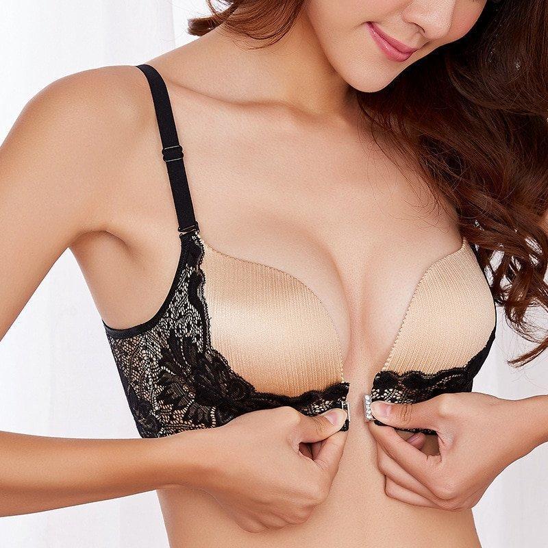 Hound D. reccomend Erotic front closure bra