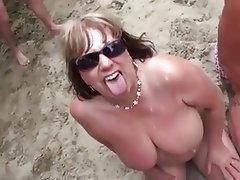 Mature bukkake videos