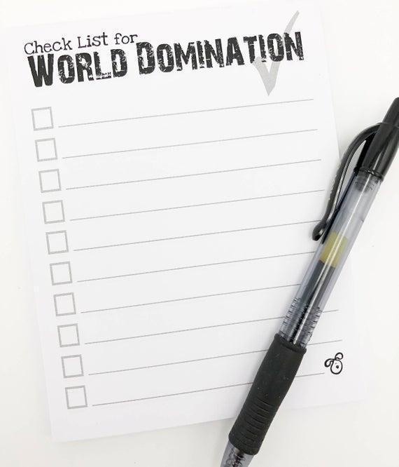 Retrograde reccomend Domination with check