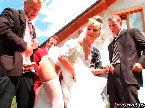Gangbang the bride and groom on webcam