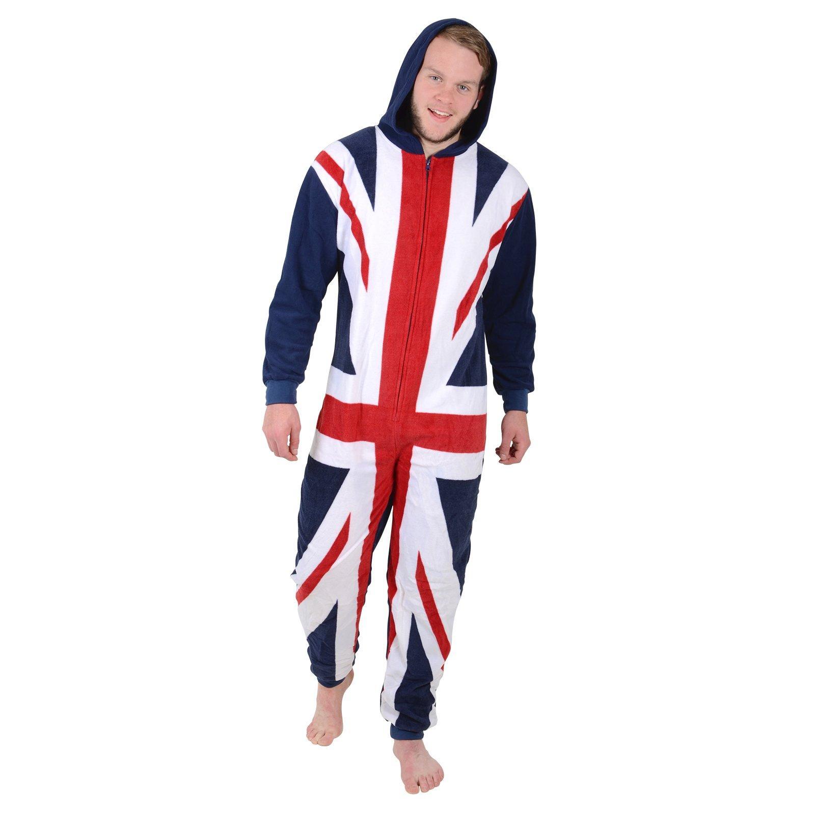 Union jack pajama bottoms
