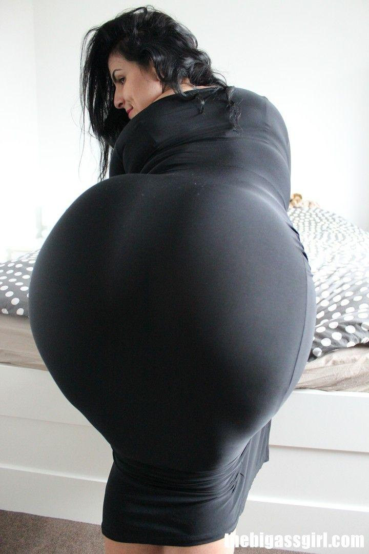 Large ass butt lady