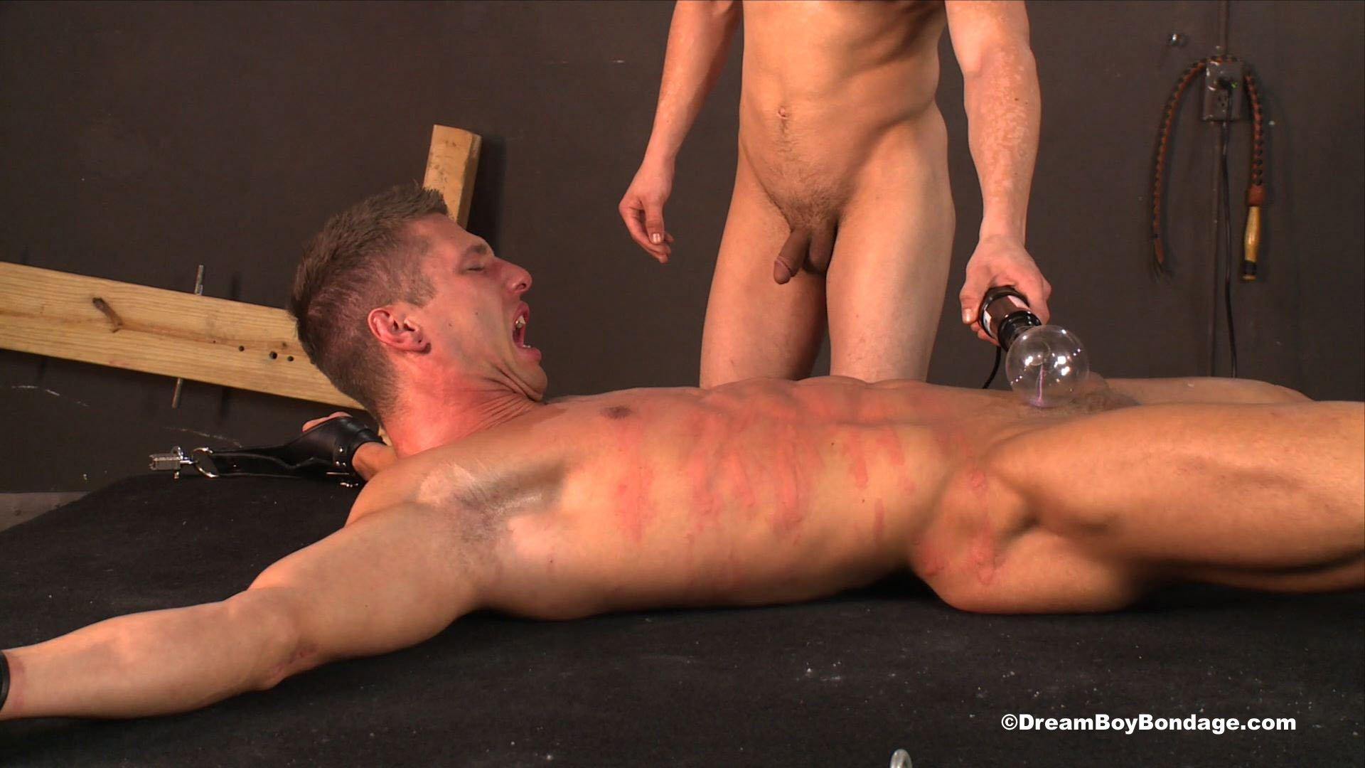 Nude male electric shock bdsm
