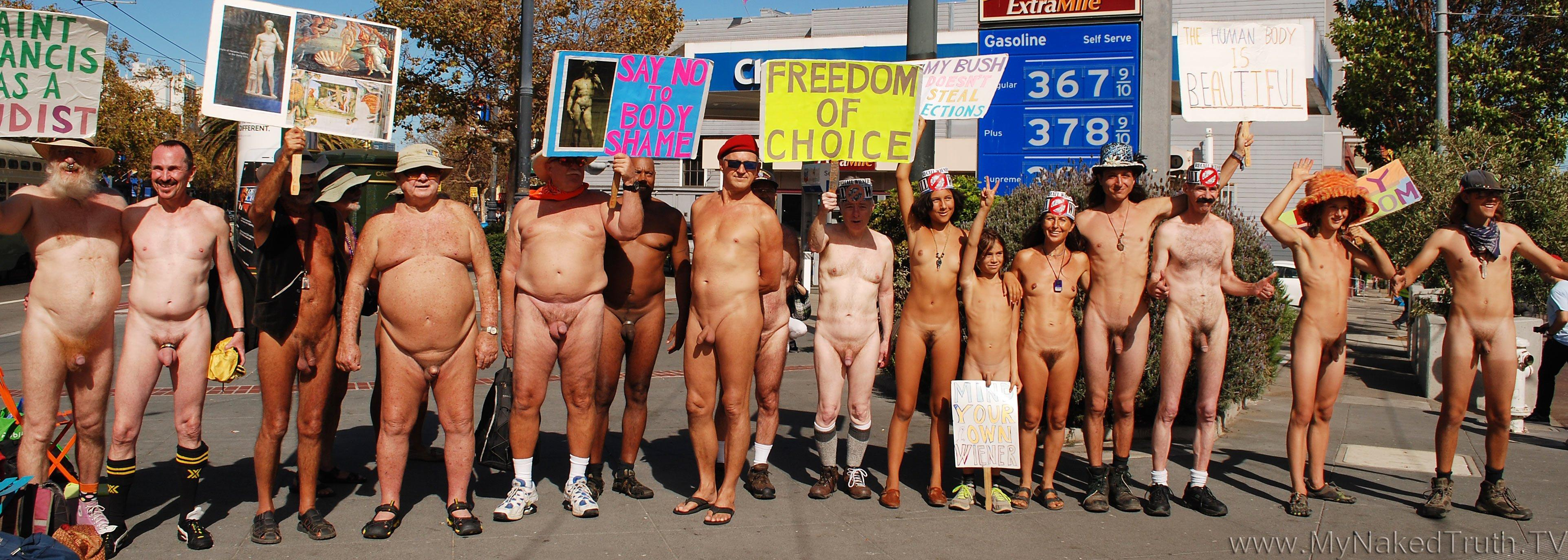 Nudist christian church