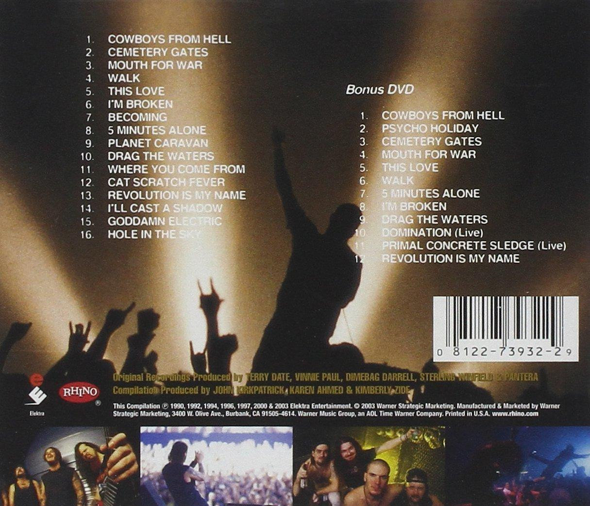 Quite pantera domination bass tab are
