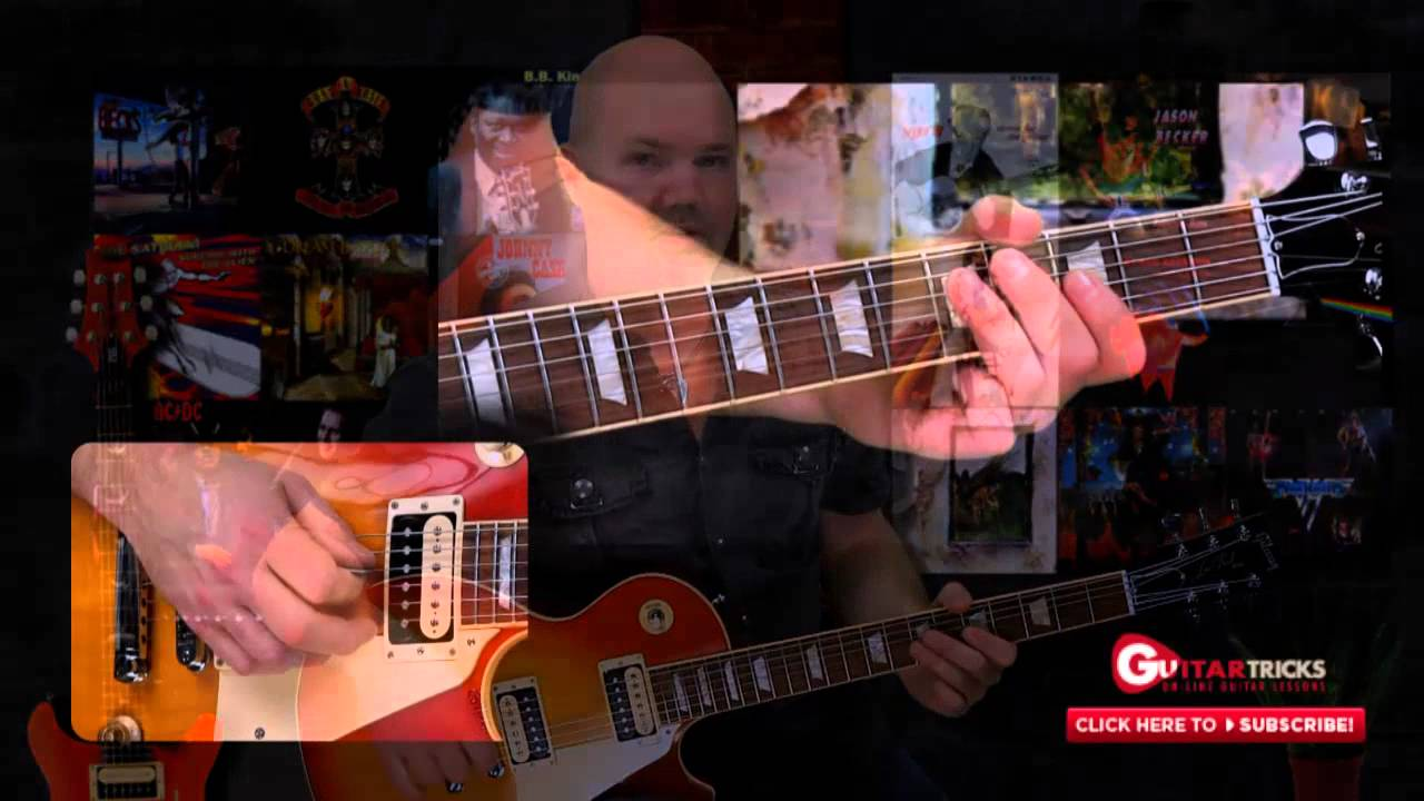 Guitar trick and lick