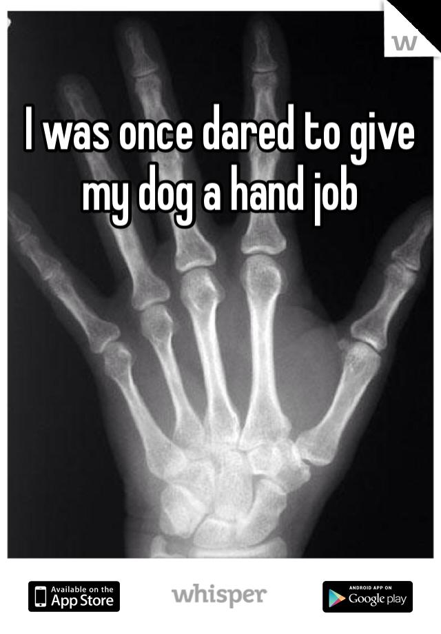 Hand job disease