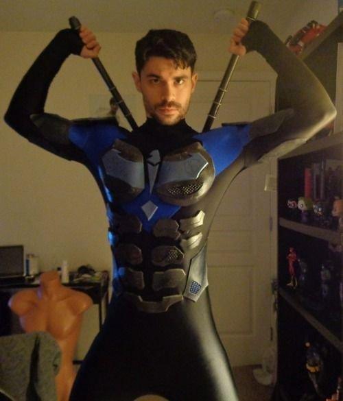 Bumble B. reccomend Super hero fetish gay
