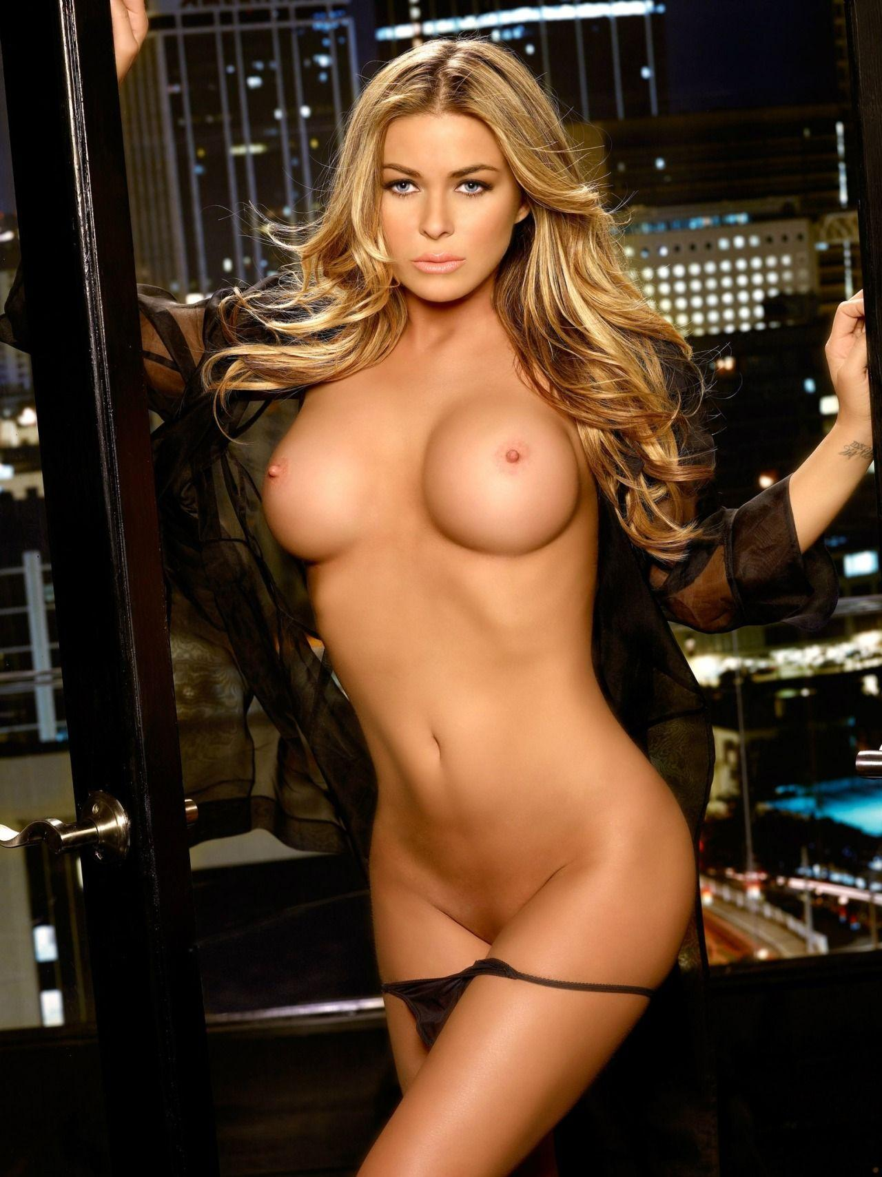 Strip nude fucked carmen electra and