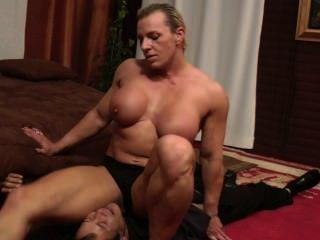 Adult female download bodybuilder video