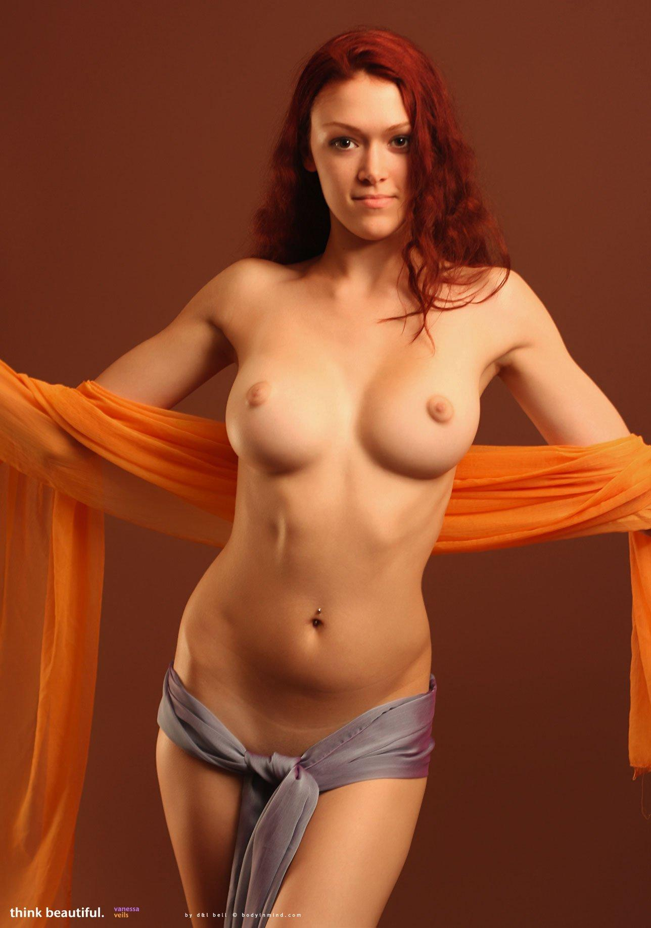 Beautiful redhead dancing nude remarkable