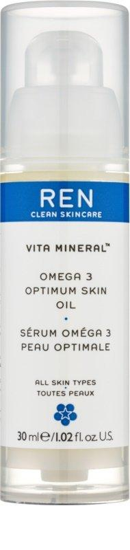 Omega 3 facial serum ren