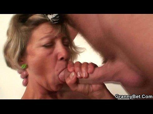 best of Job Cleaning lady blow