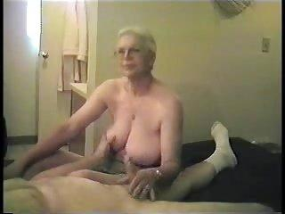 Catfish reccomend Granny loves handjob thumbs