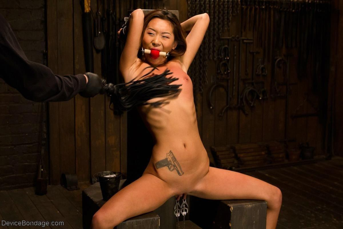 Naked chinese girls being bondage nice