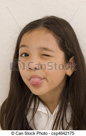 Lele reccomend Asian girl making faces