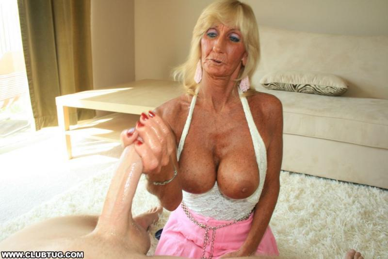Opal reccomend Granny loves handjob thumbs