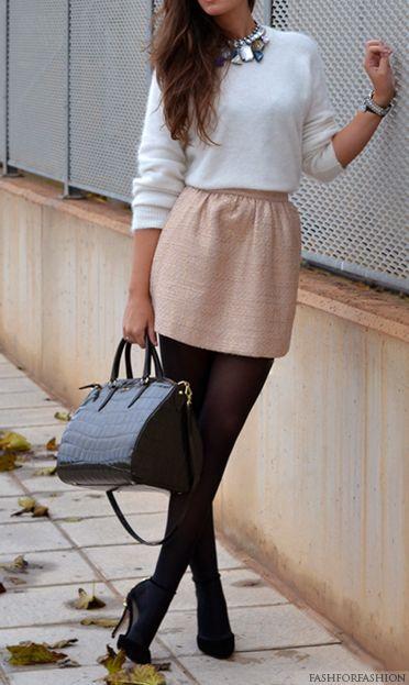 Pale pink pantyhose