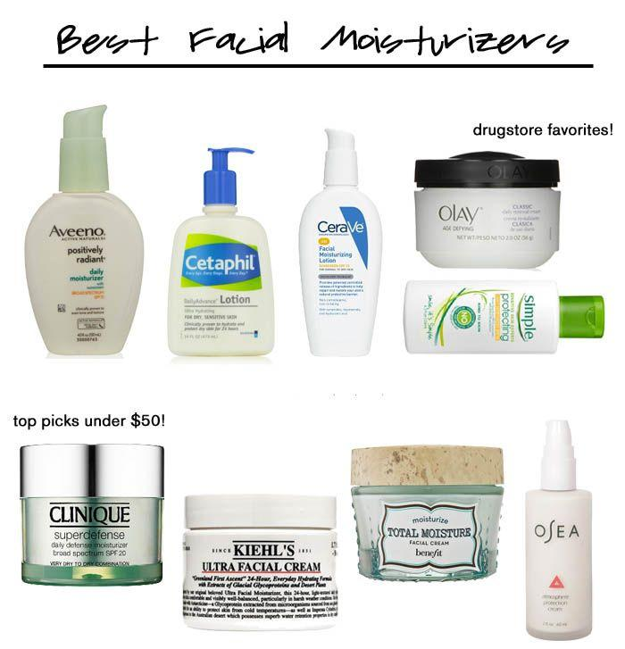 Best facial moisurizers