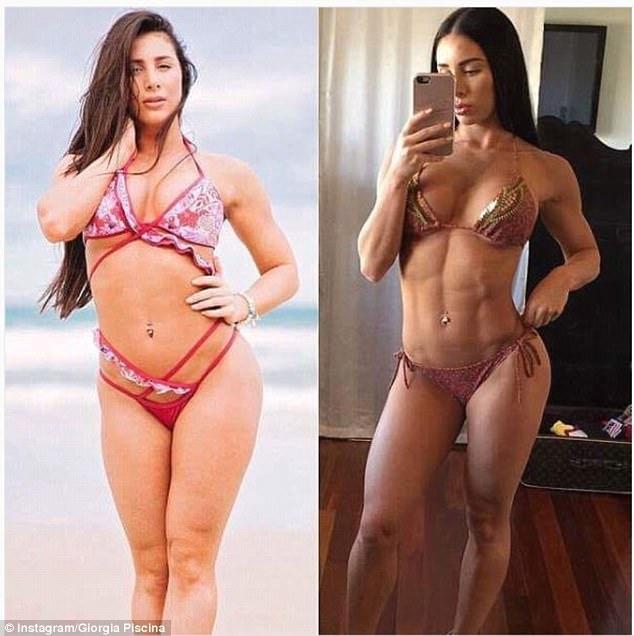 Bikini model diet