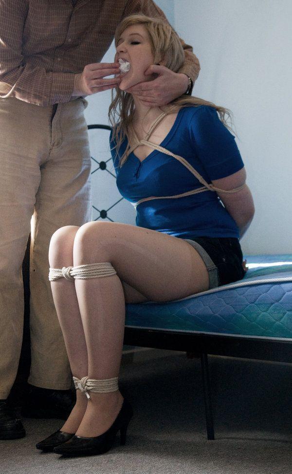 best of Neighbor blue stockings Bondage