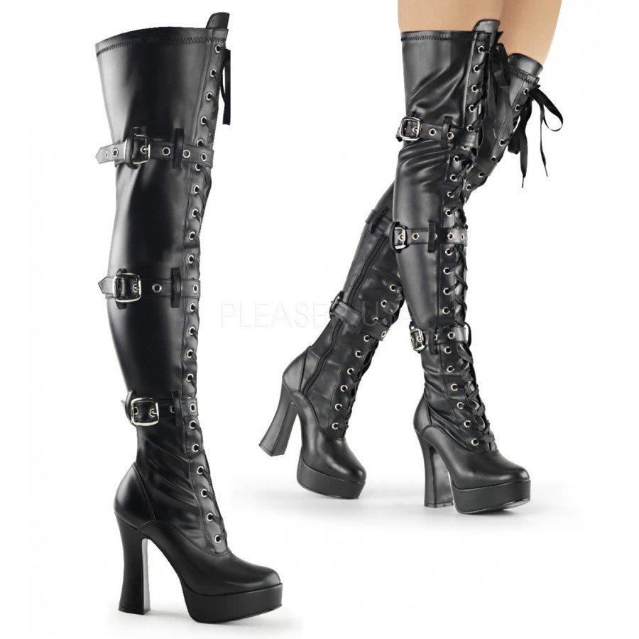 Slate reccomend Bondage thigh high boots