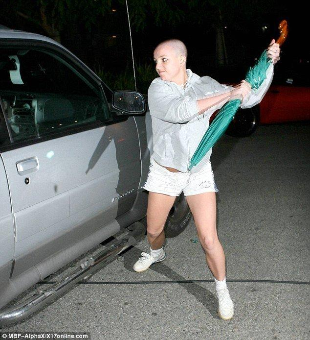best of Spear shaved head Britany picture