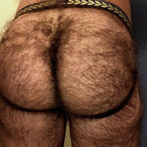 Butt hairy picture