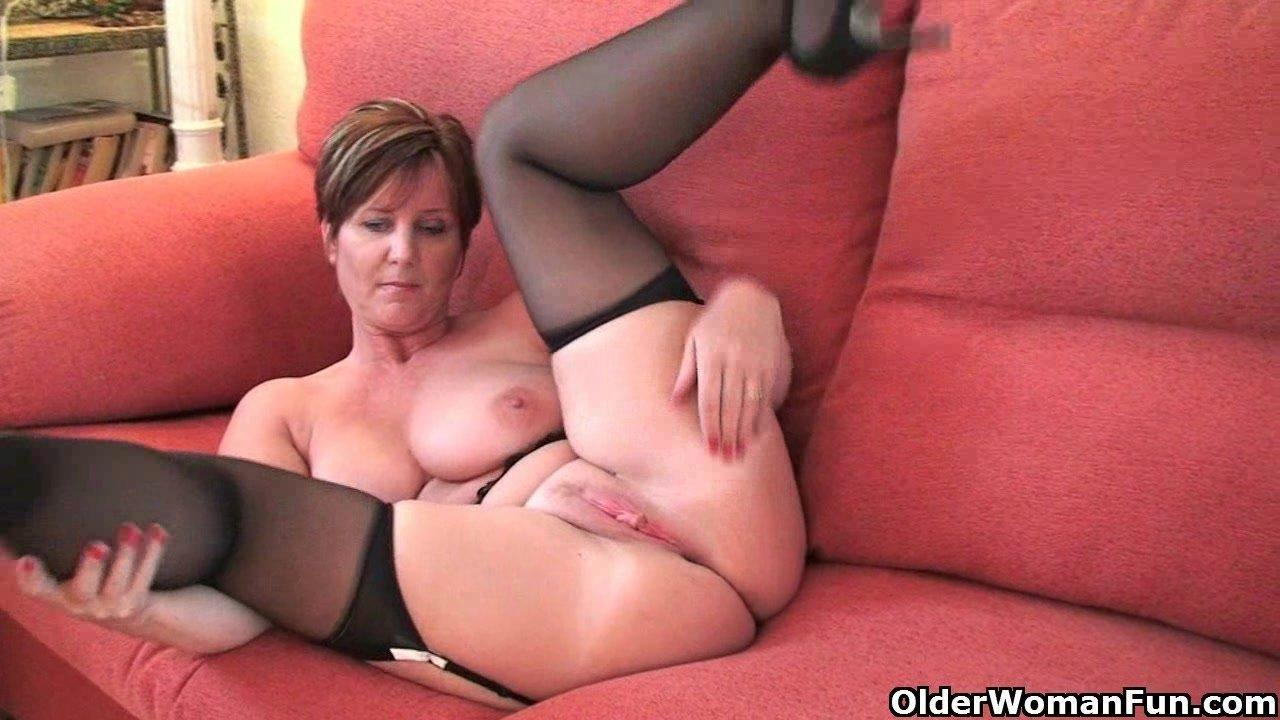 Clip mature movie stocking