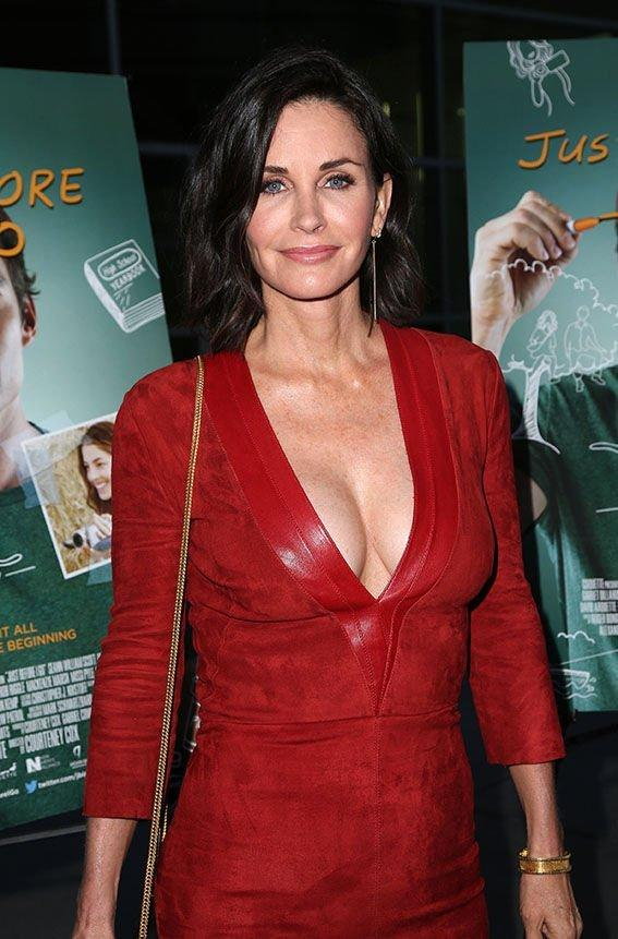 Think, that Courteney cox fucking