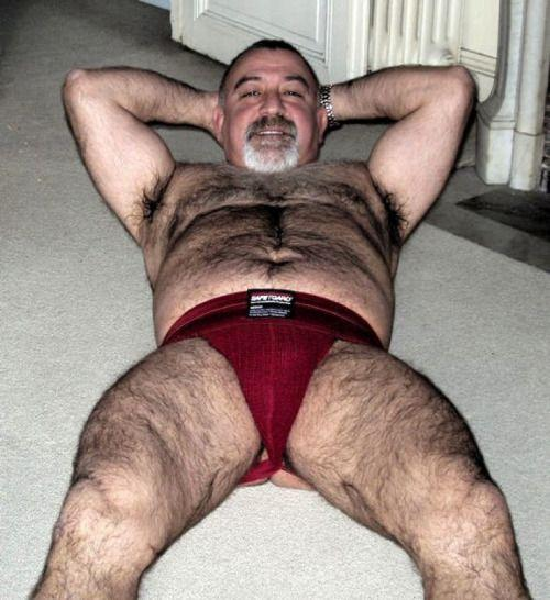 Hot sexy mature bear