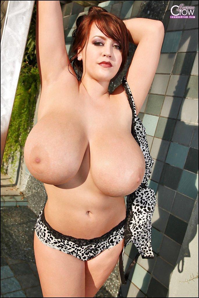 Huge boob cougar