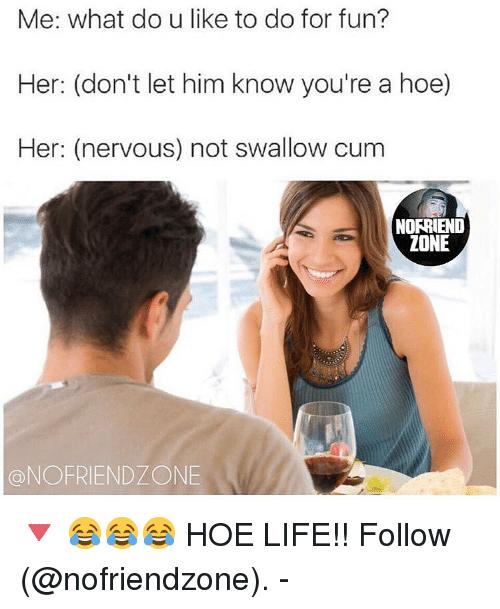 Do you swallow sperm