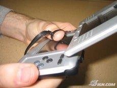 Ds thumb strap stylus