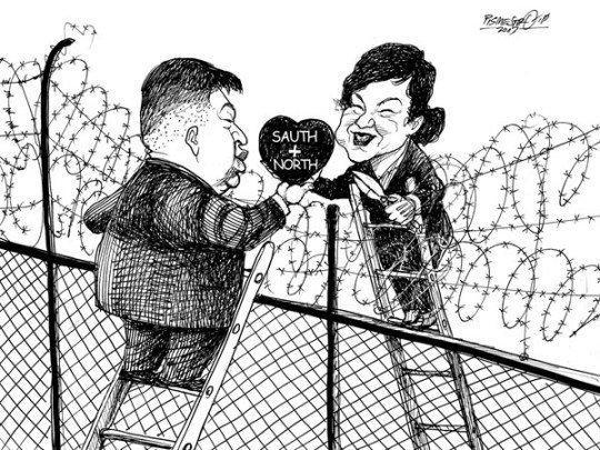 The T. reccomend Asian political cartoons