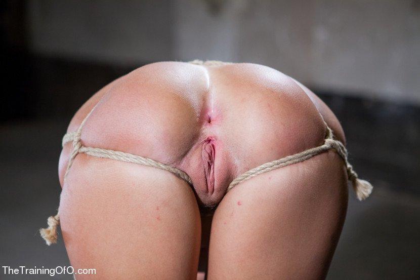 Tail training bondage